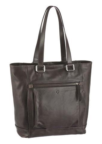 Marc O'Polo Marc O´Polo Kožená taška šedá