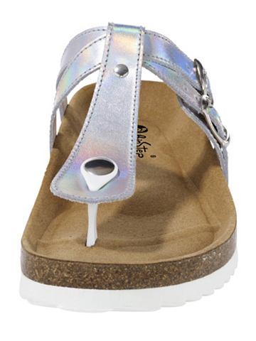BIOSTEP Pantofle stříbrná barva 39