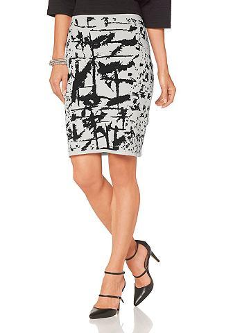 Laura Scott Sukně vlněná bílá/vzorová - standardní velikost 32