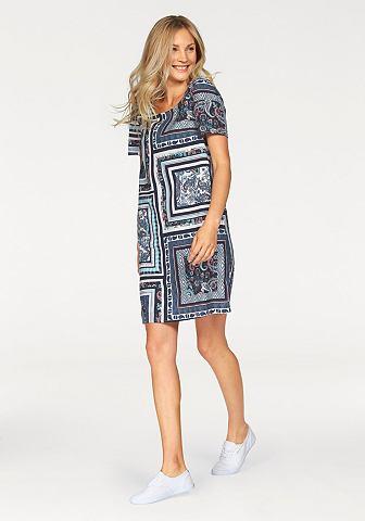 s-oliver-nyomott-mintas-ruha