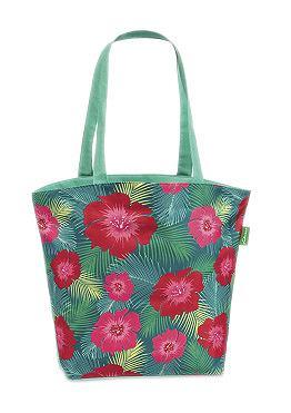 Fabrizio Plážová taška zelená kombinovaná