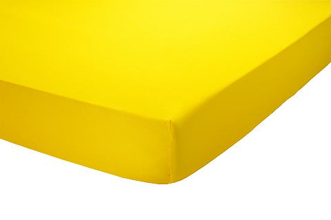 heine home Žerzejové napínací prostěradlo bílá - Napínací prostěradlo, 2-dílná - žerzej cca 90x200 cm