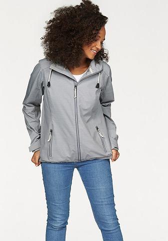 G.I.G.A. DX Softshell bunda světle šedý melír - standardní velikost 58