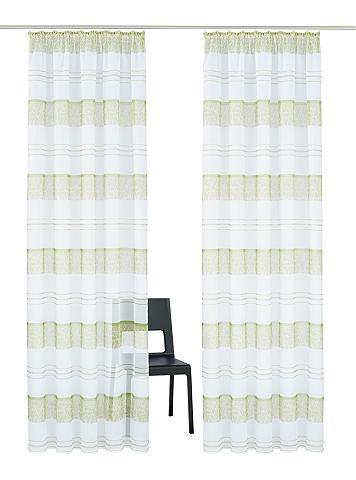Záclona, My Home »Camposa« (2 ks)