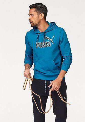 PUMA Puma FUN KA HOODED SWEAT TR Mikina s kapucí černá - standardní velikost XXL (60/62)