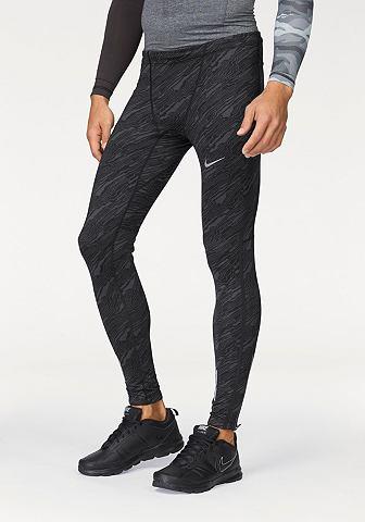 Nike Nike NIKE DRI-FIT TECH ELEVATE TIGHT Sportovní legíny černá/šedá - standardní velikost XXL (54)