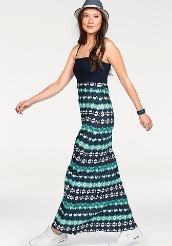 Kangaroos® Kangaroos Maxi šaty černá/bílá - standardní velikost 32