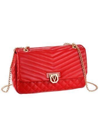 Valentino Handbags Valentino Taška přes rameno s prošitím černá