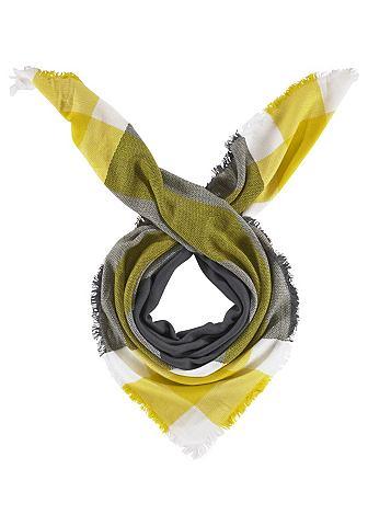Highlight Company Highlight Company Šátek šedá/bílá/žlutá