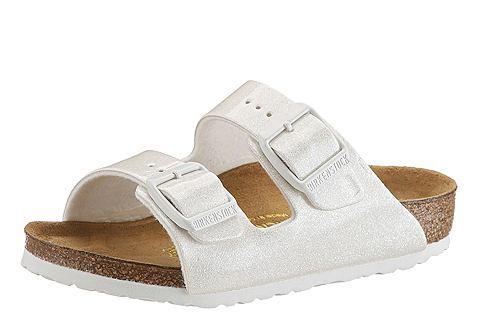 Birkenstock Birkenstock Pantofle pro děti, »ARIZONA« bílá 34