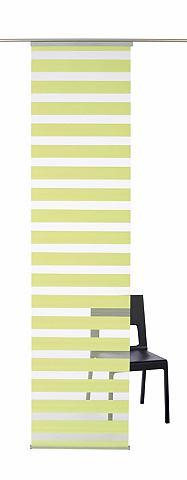 K-HOME Posuvný závěs stříbřitě šedá - neprůhledné - kolejnice do stropu 2 (VxŠ: 175x60 cm)