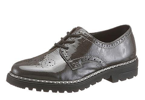 Rieker Rieker Šněrovací obuv šedá - EURO velikosti 42 (8)