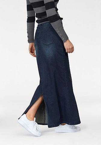 ARIZONA Džínová sukně tmavě modrá used - krátka a dlouhá délka 76