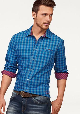 Rhode island Košile modrá/károvaná - standardní velikost XL (43/44)
