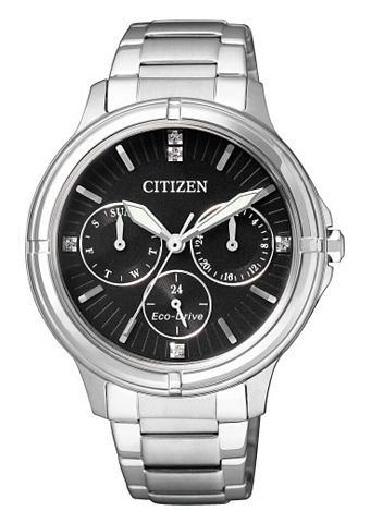 Multifunkční hodinky Citizen se Swarovski krystaly »FD2030-51E«