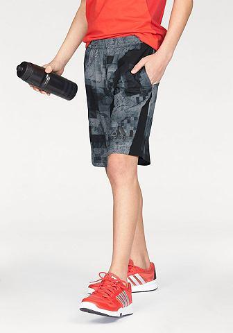 adidas Performance adidas Performance Šortky »SWAT SHORT« šedá/černá - standardní velikost 176(170)