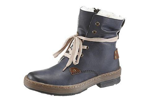 Rieker Rieker Zimní boty modrá - EURO velikosti 42 (8)