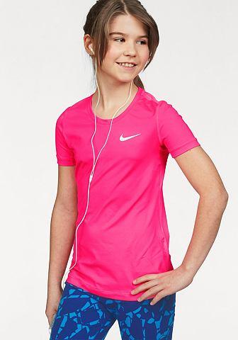 Nike Nike Sportovní tričko »PRO COOL TOP SHORT SLEEVE« pink - standardní velikost XS (110/116)