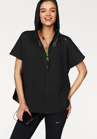 Nike Sportswear Nike Mikina s kapucí »NSW AV15 FLEECE HOODY« černá - standardní velikost XS