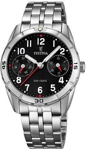 Festina Festina Multifunkční hodinky, »F16908/3« stříbrná barva