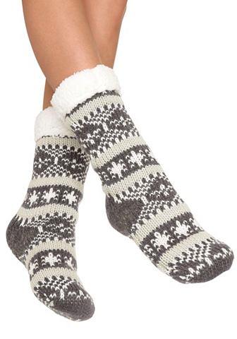 Arizona Pletené ponožky šedá vzorovaná 1(35–41)