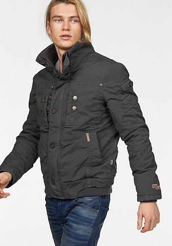 Khujo Khujo Zimní bunda »Dash« šedá - standardní velikost XL (52)