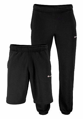 Champion Champion Joggingové kalhoty a šortky černá+černá - standardní velikost XXL (56)