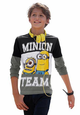 Minions Tričko s dlouhým rukávem Minions TEAM, pro chlapce