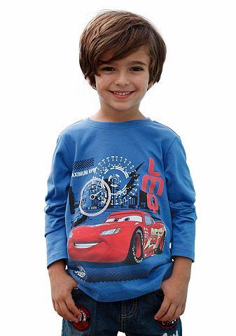 Cars Cars Tričko s dlouhým rukávem modrá - standardní velikost 92/98