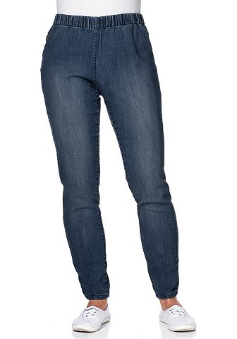 sheego Denim sheego Denim Džínové legíny šedá denim - K 27