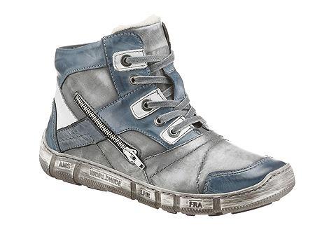 KACPER Zimní vysoká obuv