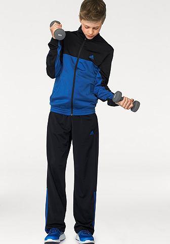 adidas Performance adidas Performance Sportovní súprava »PES MID3S CB TRACKSUIT« černá-červená - standardní velikost 128 (122)