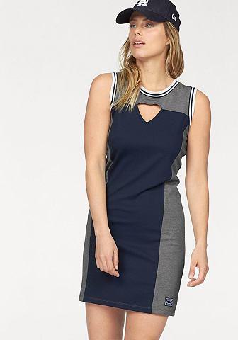 Kangaroos® KangaROOS Mini šaty námořní modř/šedá - standardní velikost 32