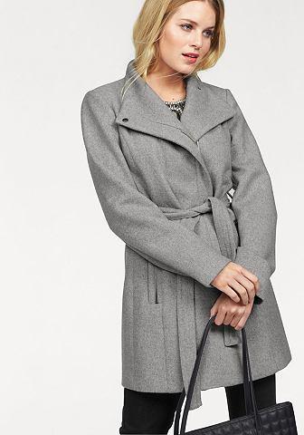 Vero moda® Vero Moda Kabát »Call Rich« světle šedý melír - standardní velikost L (40)