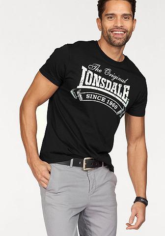 Lonsdale Lonsdale Tričko černá - standardní velikost XXL (60/62)