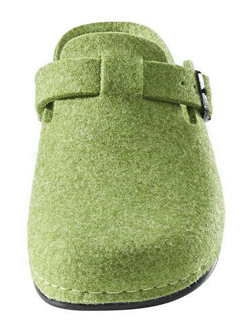 heine home Pantofle zelená 36