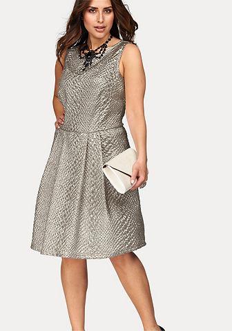 Junarose Junarose Šaty stříbrná barva - standardní velikost L(46x48)