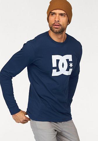 DC Shoes DC Shoes Tričko s dlouhými rukávy modrá - standardní velikost XXL (56)