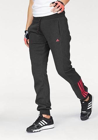 adidas Performance adidas Performance kalhoty na běhání »ESSENTIALS MID 3S PANT« černá melírovaná - standardní velikost XS(30/32)