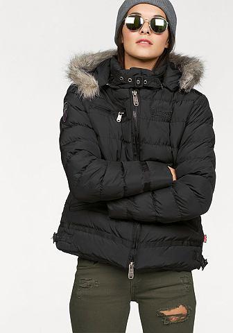 Lonsdale Lonsdale prošívaná bunda černá - standardní velikost L (38)