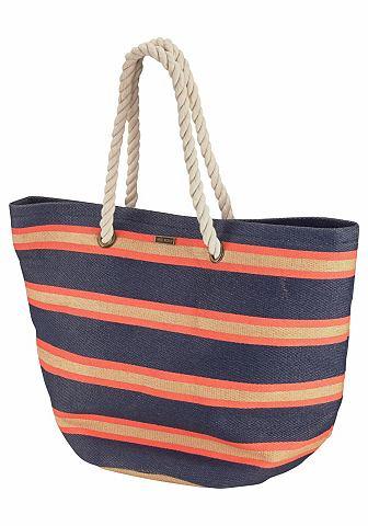 Roxy Quiksilver plážová taška námořní modř/oranžová