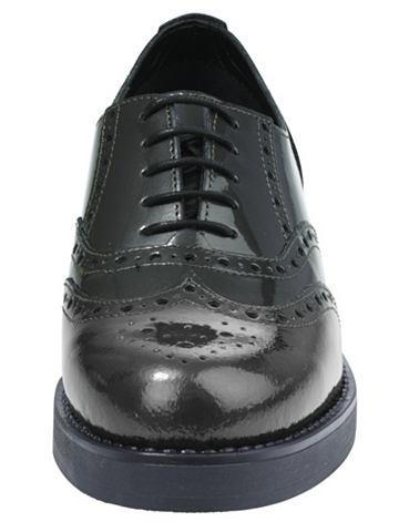 heine Šněrovací boty zelená/metalová 42