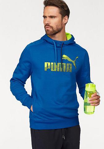 PUMA Puma mikina s kapucí »Sports Logo Hoody« černá - standardní velikost XXL (60/62)
