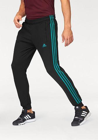 adidas Performance adidas Performance kalhoty na běhání »TAPERED AUTHENTIC 1.0 PANT« černá/zelená - standardní velikost L (52/54)