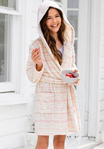 Kimono růžová-režná pruhovaná 176/182