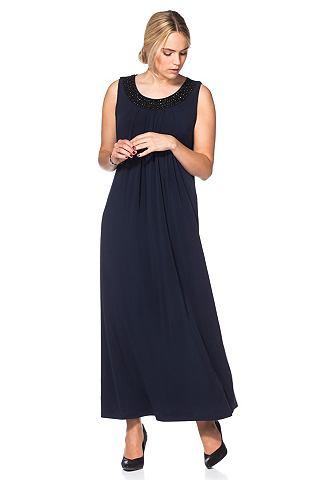 sheego Style sheego Style Večerní šaty s korálky námořní modř - krátká 20