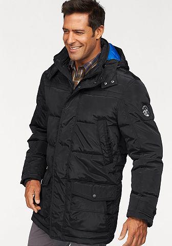 Man's World Man's World Zimní bunda indigová modř - standardní velikost L (52)