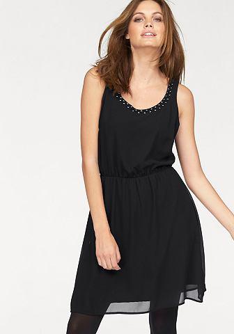 Only Only Šifonové šaty »BERIT« černá - standardní velikost 34