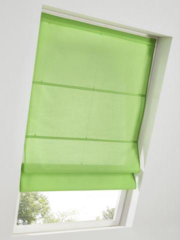 heine home Látková roleta šedá - látková roleta na střešní okno - bez vrtání, šroubovaní cca 140x45 cm