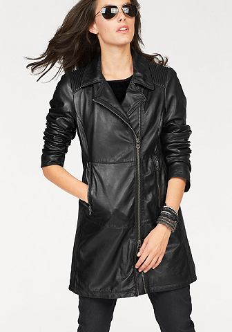Kožený kabát Aniston